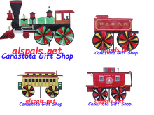 B&O Four car train : Train Spinner (25931 & 2 & 3 & 4)