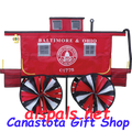 "B&O Caboose 29"" :Train Spinners (25934)"