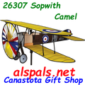 26307 Sopwith Camel: Airplane Spinners (26307)