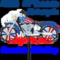 "26836  Motorcycle Spinners 22"" Motorcycles Patriotic (26836)"
