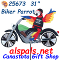 25673  Biker Parrot (Motorcycle) : Party Animals (25673) For those that live in high sun areas ( U V Rays ) or that want the best for their out door treasures order #22795 UV Tech 4oz or #22798 UV Tech 12oz Protectant & Rejuvenator. Also great for Water Sports Gear