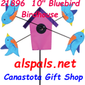 "21896  BLUEBIRD BIRDHOUSE 9""    Whirligig (21896)"