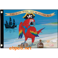 Parrot the Pirate  Seafarer Flag