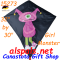 "15273  Girl Monster: Diamond 30"" Kites by Premier (15273)"