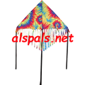 "Tie Dye: Delta Fringe 48"" Kite by Premier (33082)"
