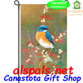 56148 BlueBird Beauty Garden Flag by Premier Illuminated (56148)
