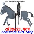 "25172 Donkey 19.5"": Petite Wind Spinner (25172)"