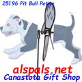 """25195 Pit Bull 19.5"""": Petite Wind Spinner (25195)"""