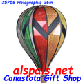"""25758 Holographic 26"""" Hot Air Balloons (25758)"""