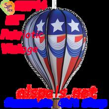 "25744 Patriotic Vintage 22"" Hot Air Balloons (25744)"