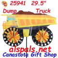 25941  Dump Truck : Vehicle Spinners (25941)