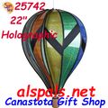 "25742 Holographic 22"" Hot Air Balloons (25742)"