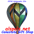 """25742 Holographic 22"""" Hot Air Balloons (25742)"""