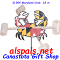 "21904  Maryland Crab 18"" , Whirligig (21904)"