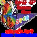 22168 Open Rainbow Triple Spinners (22168)