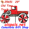 """25651  Old Time Truck 29"""": Vehicle Spinners (25651)"""