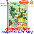 56168 Love Makes Me Happy : PremierSoft Garden Flag (56168)