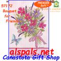 57172 Bouquet for Friends : PremierSoft House Flag (57172)