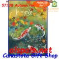 57138 Autumn Pond : PremierSoft House Flag (57138)