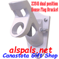 23941 Dual Position House Flag Bracket