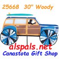 """25668 Woody 30"""" :Vehicle Spinners (25668)"""