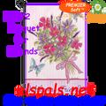 56172 Bouquet for Friends : PremierSoft Garden Flag (56172)