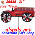 """26838 Fire Truck 21"""" : Vehicle Spinners (26838)"""