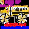 "25655  School Bus 29"" : Vehicle Spinners (25655)"