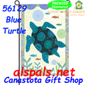 Blue Turtle :  PremierSoft Garden Flag
