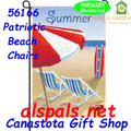Patriotic Beach Chairs :  PremierSoft Garden Flag