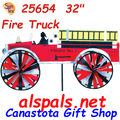 """25654   Fire Truck 32"""" : Vehicle Spinners (25654)"""