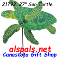 "21792 Sea Turtle 27"" , Whirligig (21792)"