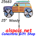 """25683 Woody 25"""" :Vehicle Spinners (25683)"""