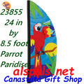 26855  Parrot Paradise 8.5ft : Prestige Feather Banner (23855)