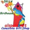 59114  Birdhouse : Garden Charms Inflated (59114)