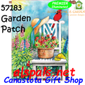 57183  Garden Patch : Illuminated House Flag (57183)