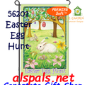 56201  Easter Egg Hunt : PremierSoft Garden Flag (56201)