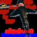 44317  Shark (Black) 21 ft.: Sea Life Kite by Premier (44317)