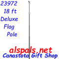 23972  18 ft. Deluxe Flag Pole (23972)