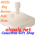 49151  8 kg Banner Pole Base (49151)