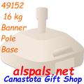 49152  16 kg Banner Pole Base (49152)