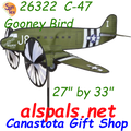 "26322 C-47 Gooney 27"" : Airplane spinner (26322)"