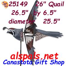 "Quail 26"" Bird Spinners (25149)"