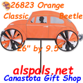 "26"" Orange VW Classic Beetle , Vehicle Spinners (26823)"