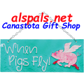 When Pigs Fly : Glass Expressions (81136)