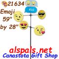 "Emoji 59"", Carousel Wind Spinners (21634)"