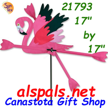 "Running Flamingo 17.75"" , Whirligig (21793)"