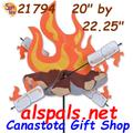 "20"" Campfire : Whirligig (21794)"