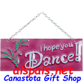 I hope you Dance : Glass Expressions (81134)