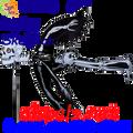 25136   Flying Skeleton: Flying Wind Spinners (25136)